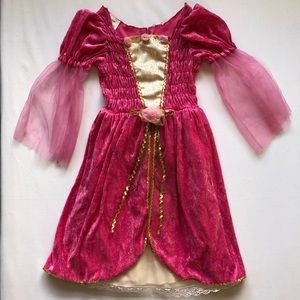 Other - Princess Costume Dress Size 4-6x